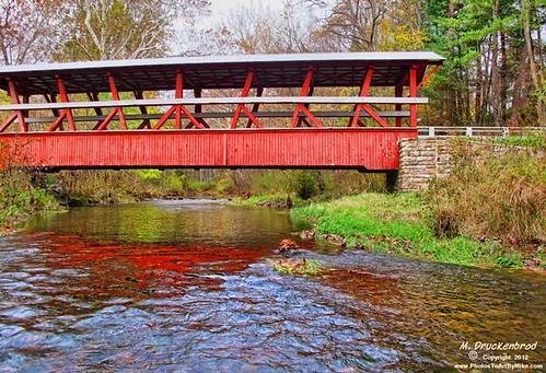 rural landscape pennsylvania country scenic pa coveredbridge schellsburg historicbridge bedfordcounty colvincoveredbridge multiplekingpostbridge