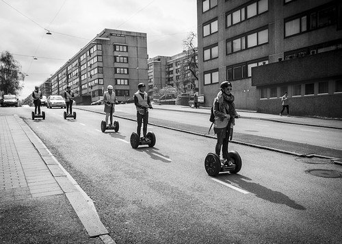 Segway parade by Brintam