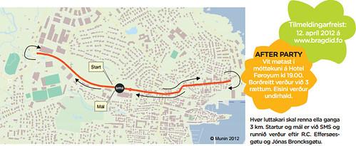 Afterparty aftaná 3 km