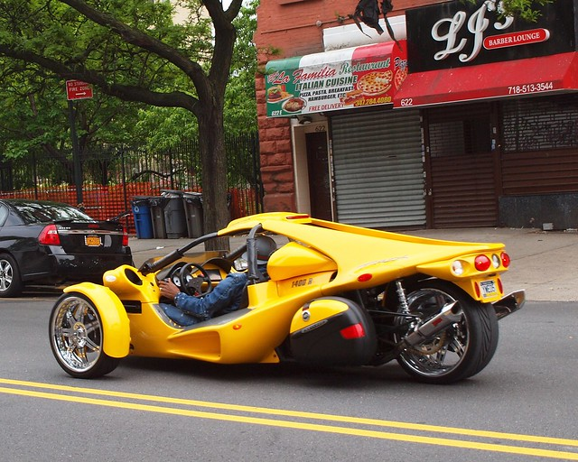 Yellow Campagna Motors T Rex 1400 R Motorcycle Bronx New