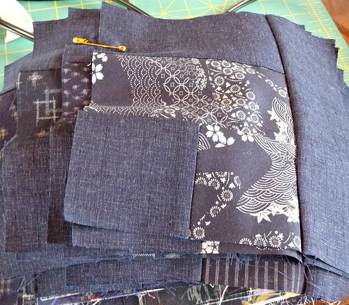 Sue's Indigo Blocks