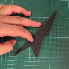 วิธีการพับกระดาษเป็นรูปจิงโจ้ (Origami Kangaroo) 017