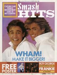 Smash Hits, September 27, 1984