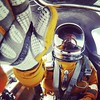 Spacesuit selfie. by Christopher.Michel