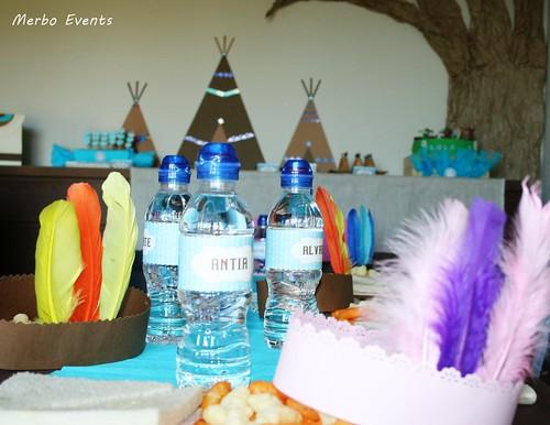 Detalle Mesa Cumpleaños Pocahontas Merbo Events