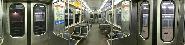 Such an empty, empty train