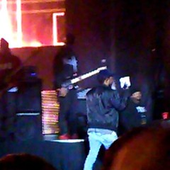 King Kendrick holding my CD in his hand