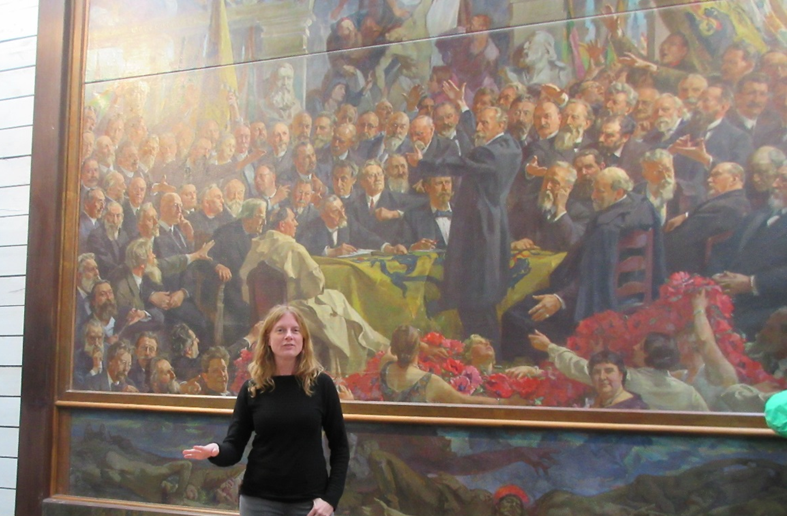 """Dr. Shelby discusses Luyten's """"The Golden Painting of Flanders"""""""