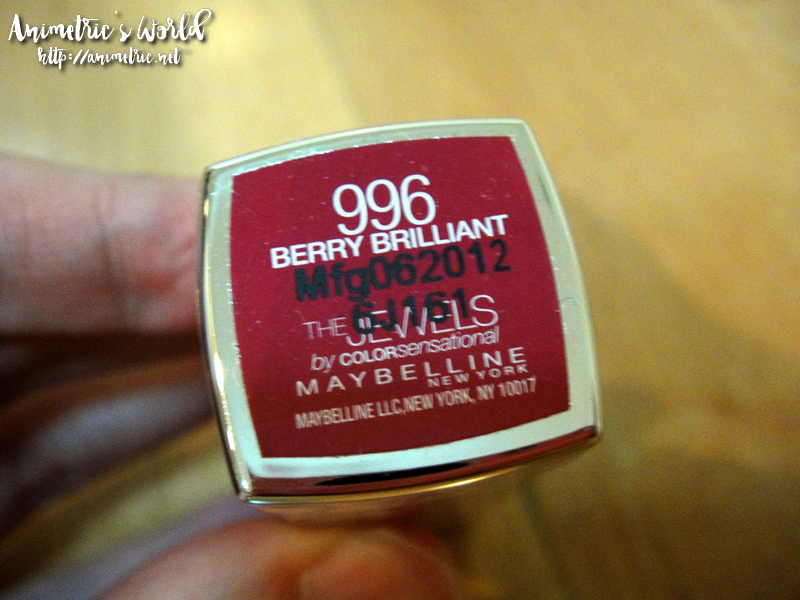 Maybelline The Jewels