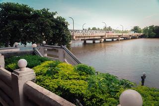 Bridge on the Black River in Lanka
