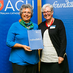 ACUscholarship2016-179 Christine Luck and and Prof. Karen Flowers