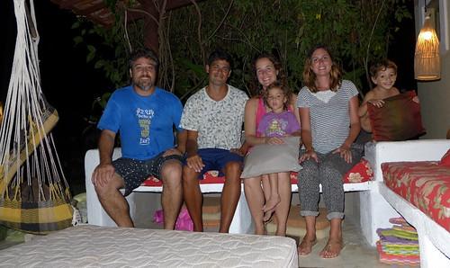 Insieme a Moira e Stefano e famiglia