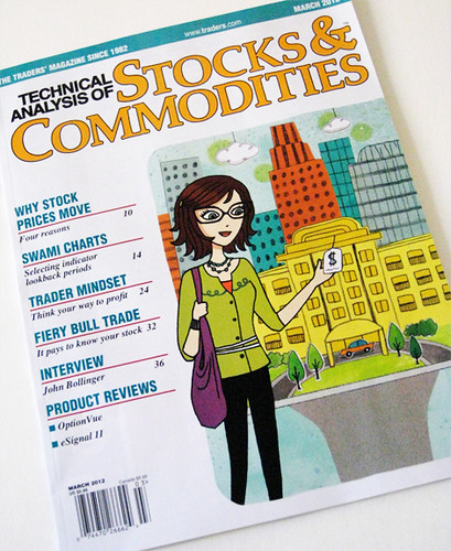 cover illustration - Technical analysis of Stocks & Commodities Magazine