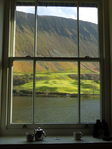 Bedroom view, the Old Rectory, Tal-Y-Llyn