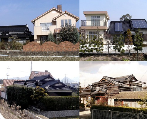 Individualistic Japanese Architecture by timtak