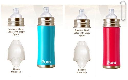 pura kiki stainless steel bottles