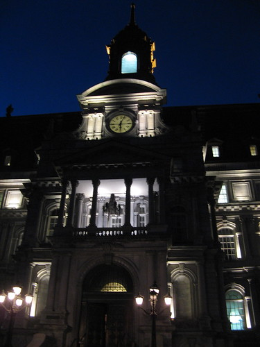City Hall at Night by susanvg