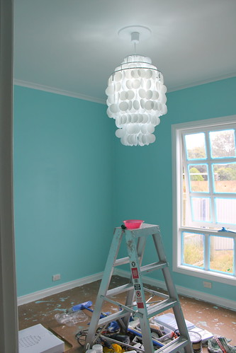 Blue room nearly finished