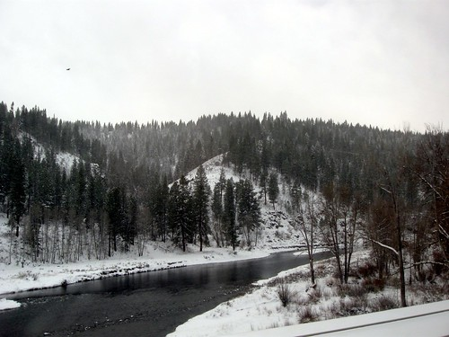 Truckee River from the Snow Train - 2012