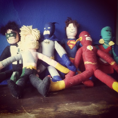 Justice League of Felt