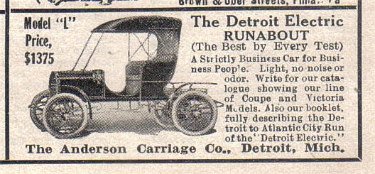 1909 ANDERSON DETROIT ELECTRIC CAR | Flickr - Photo Sharing!