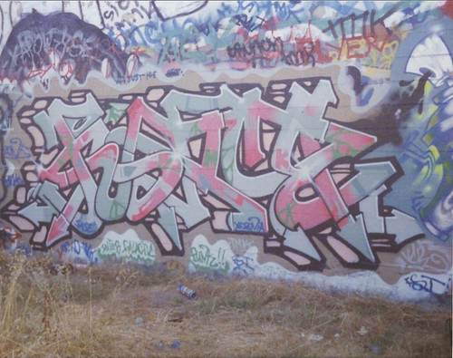 """JUSTICE"" by Zone TMK...tdk yard, 1992?"