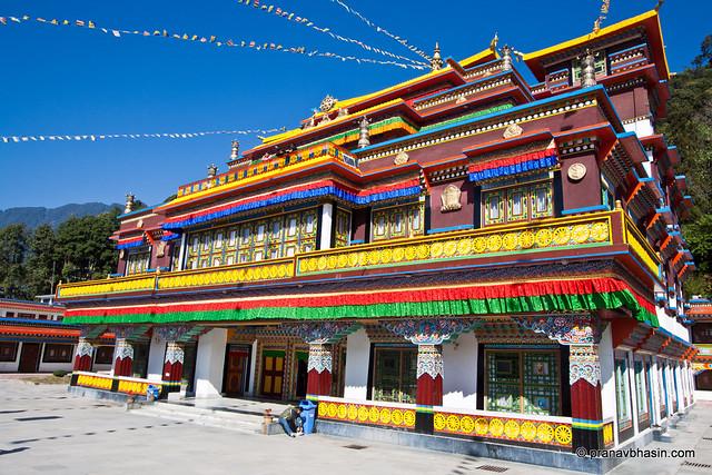 Lingdum / Ranka Monastery by Pranav Bhasin
