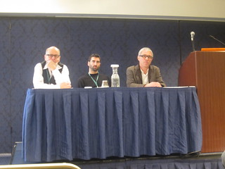 Richard Walker(University of California-Berkeley), Elliot Siemiatycki (University of British Columbia) and Roger Keil (York University)
