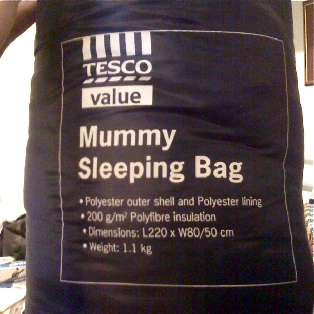 Expedition Sleeping Bag - Tesco Value