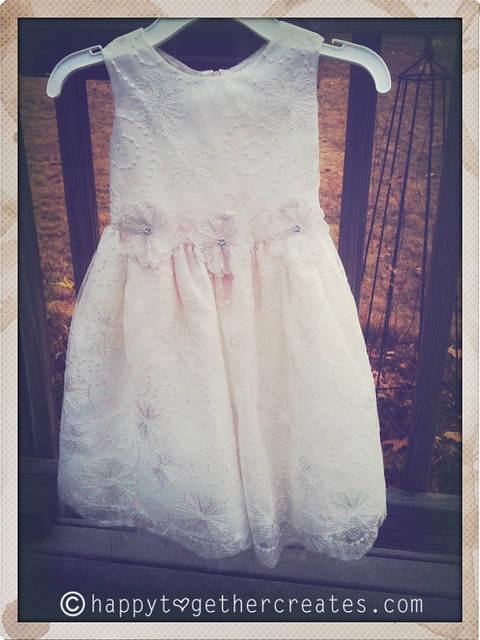 The before flower girl dress pic
