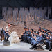 Artists of The Royal Opera in La Fille du régiment priapic © Antoni Bofill/ROH 2010