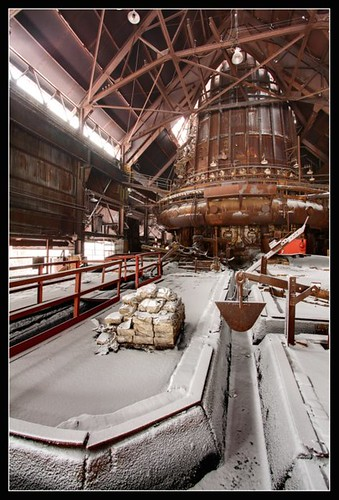 Blast Furnace Winter by earthmagnified