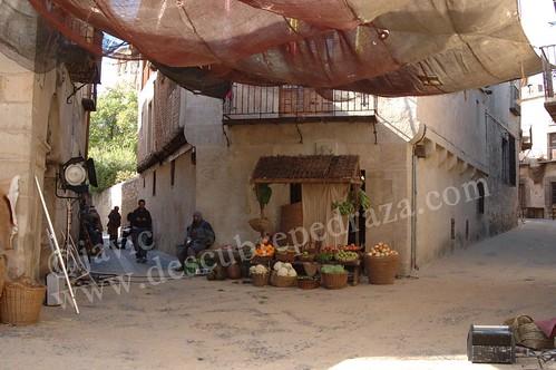 Rodaje de Toledo, cruce de destinos, en Pedraza