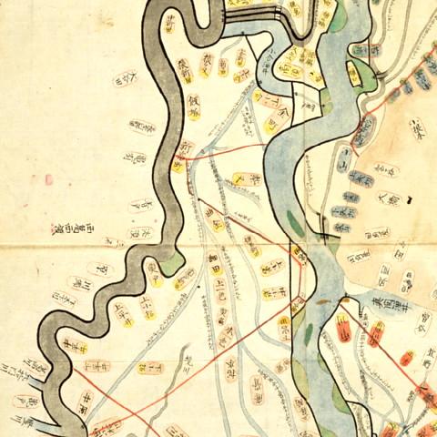 江戸川縁領々地図