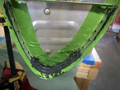 Left Inboard Nose Rib Mid-Install