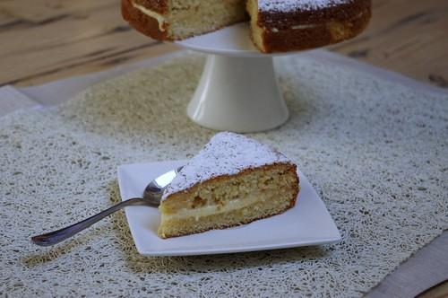 Butter Cake con crema pasticcera
