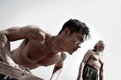 [Free Images] People, Men, Men - Asian, Chinese People, Kung fu ID:201203160400