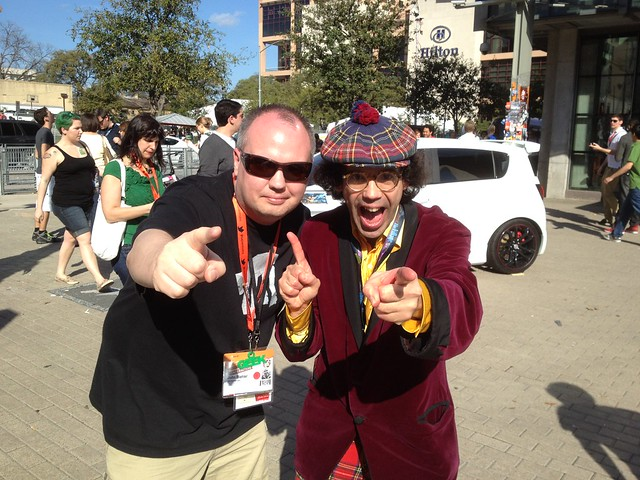 Just bumped into @nardwuar at SXSWi