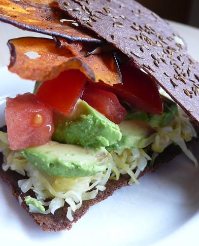 Raw Reuben Sandwich