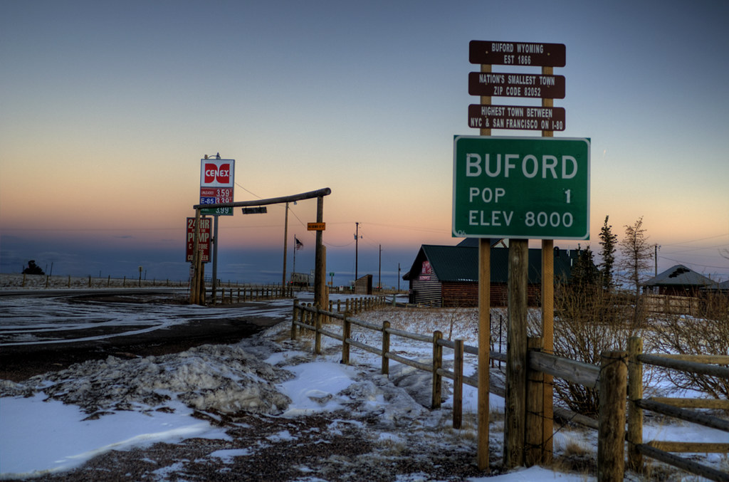 Buford Wyoming Population 1 Ap0013 Flickr