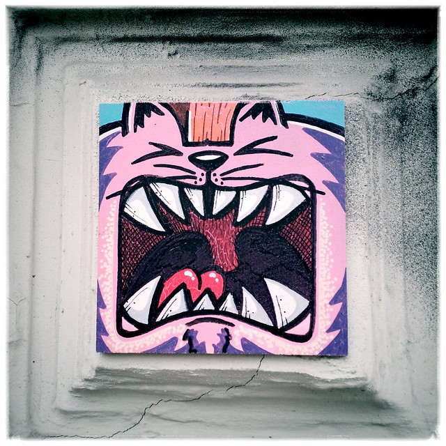 Streetart SuperFatCat