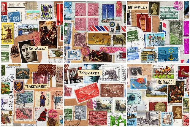 Some of my postcards...