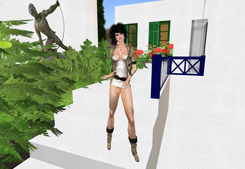 *Stars*Fashion* Curiosity Sepia * Promo 99 lindens by Cherokeeh Asteria