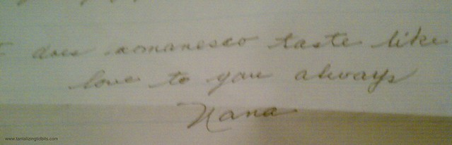 love to you always, nana