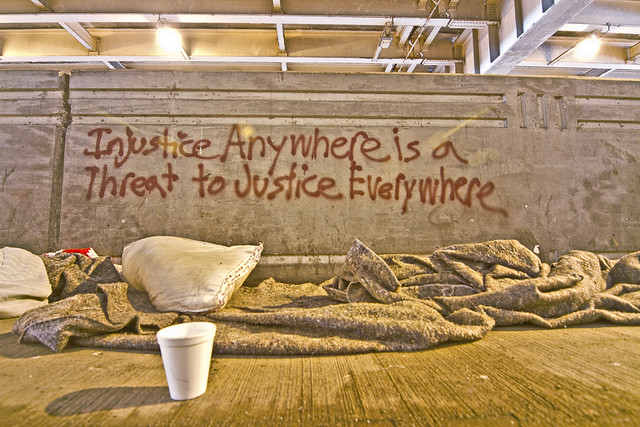"""Injustice Anywhere is a threat to justice Everywhere."" -Dr. Martin Luther King Jr."