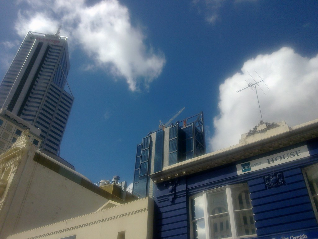 Perth completed brookfield place 244m 82m office for 137 st georges terrace perth