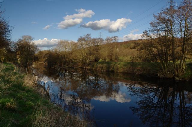 River Aire, Denso Marston Nature Reserve