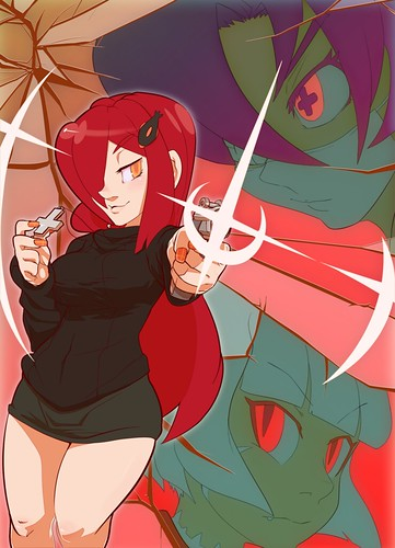Skullgirls' Parasoul Fan Art by Franpaccio