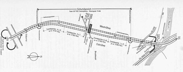 Die Zivilschutzanlage Sonnenbergtunnel in Luzern