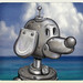 Dog-Matic at the Beach! by David Scott Cole